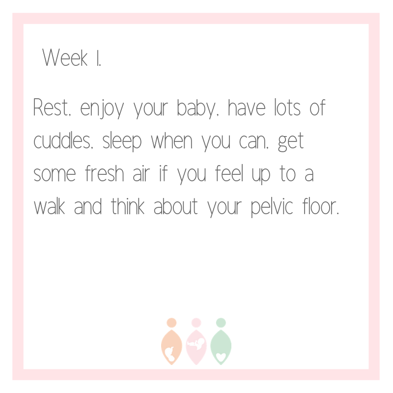 Returning to exercise after having your baby